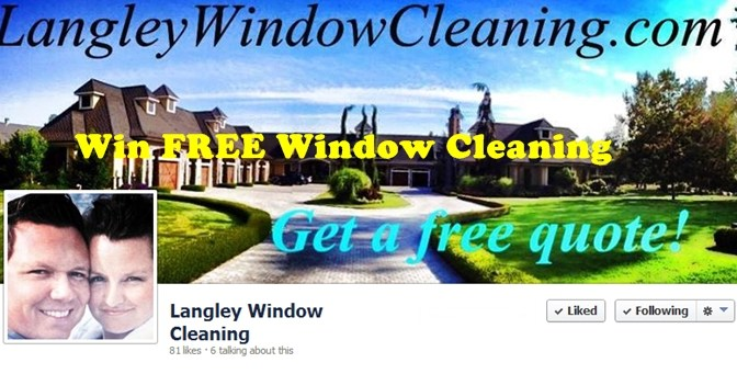 Free Window Cleaning Contest