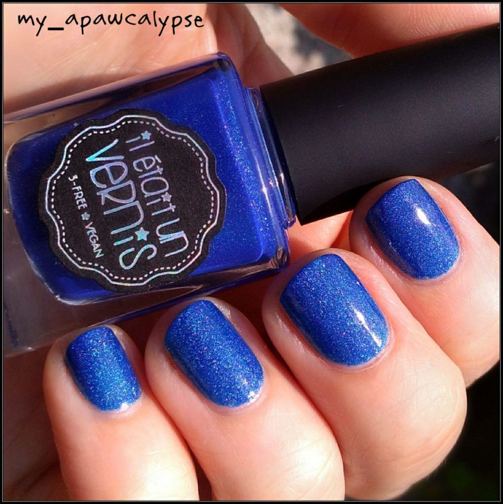 Il Etait Un Vernis, Captain Blue Sky (swatch @my_apawcalypse)