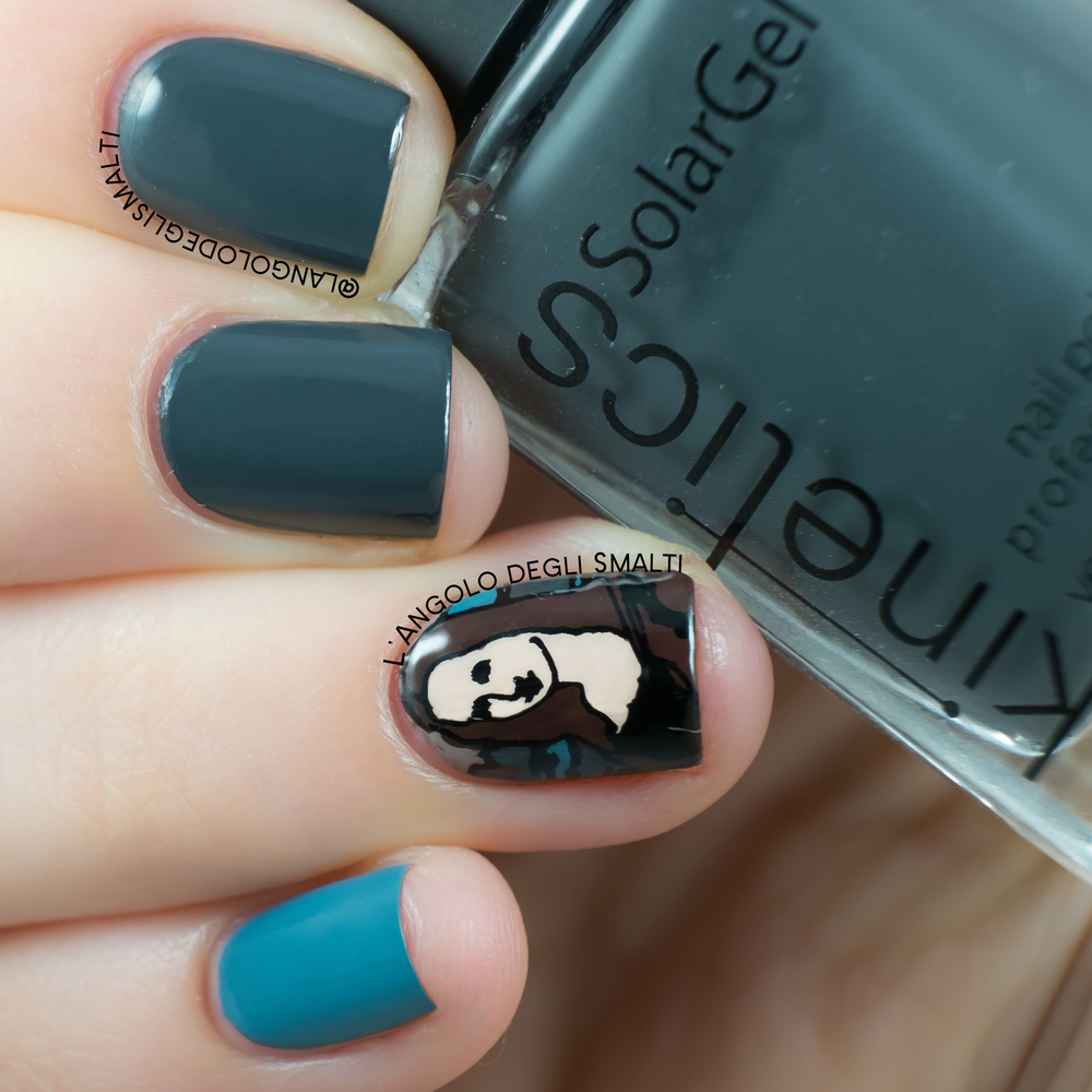 Mona Lisa Nail Art