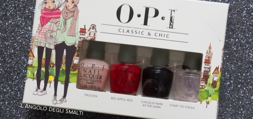 OPI, Classic and Chic
