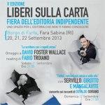 Lib(e)ri sulla Carta – Fiera dell'editoria indipendente a Rieti
