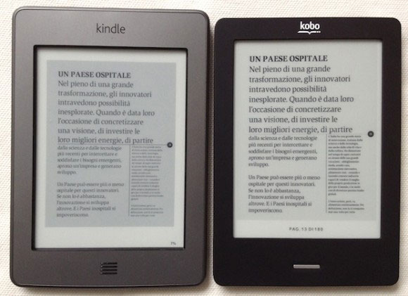 kindle o kobo?