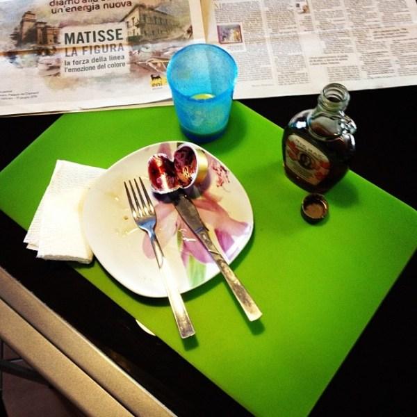 C'era una volta la colazione con i pancake... Se volete la ricetta, la pubblico sul blog appena digerisco :-)