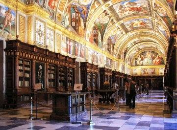 real biblioteca de el escorial