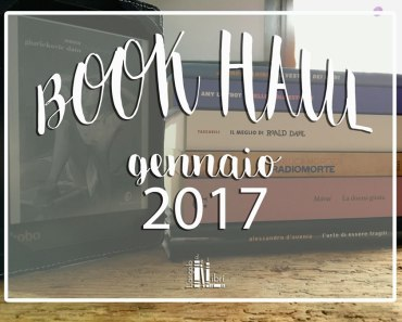 book haul gennaio