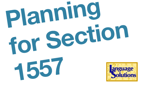 Section 1557: Develop a Language Access Plan