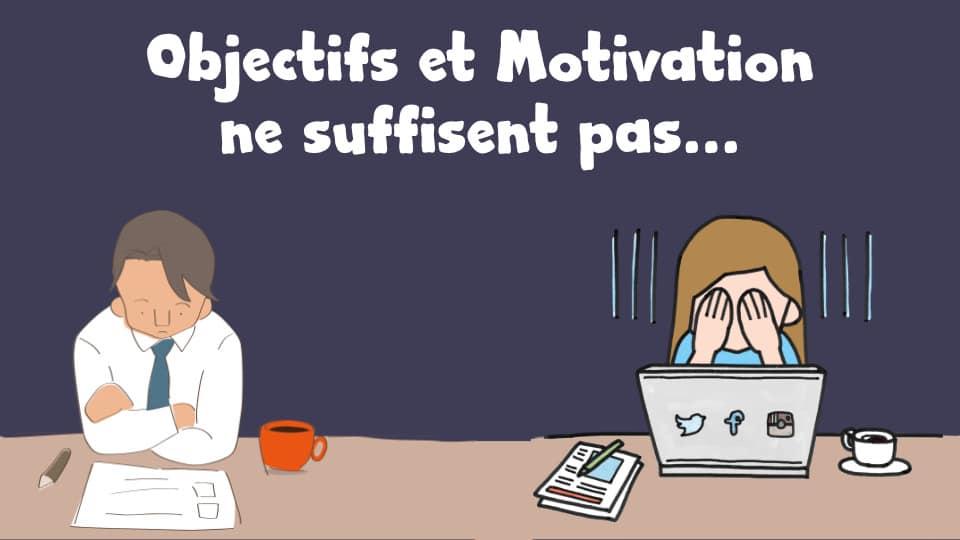 Objectifs et motivation ne suffisent pas : les personnes qui réussissent mettent donc en place tout un ensemble d'habitudes gagnantes dans leur vie!