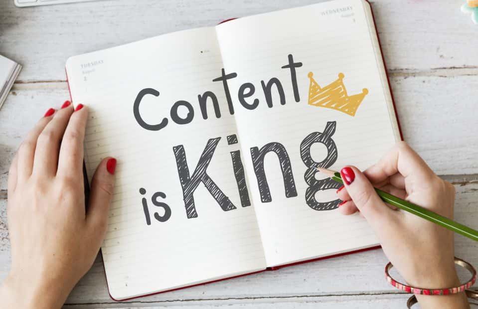 En terme d'apprentissage des langues, le contenu est roi