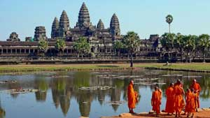 English to Khmer Translation - Angkor Wat Cambodia