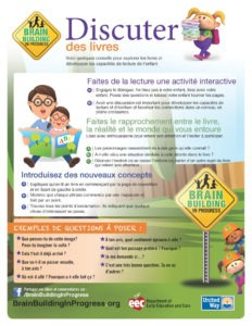Parent Activity Guides in French