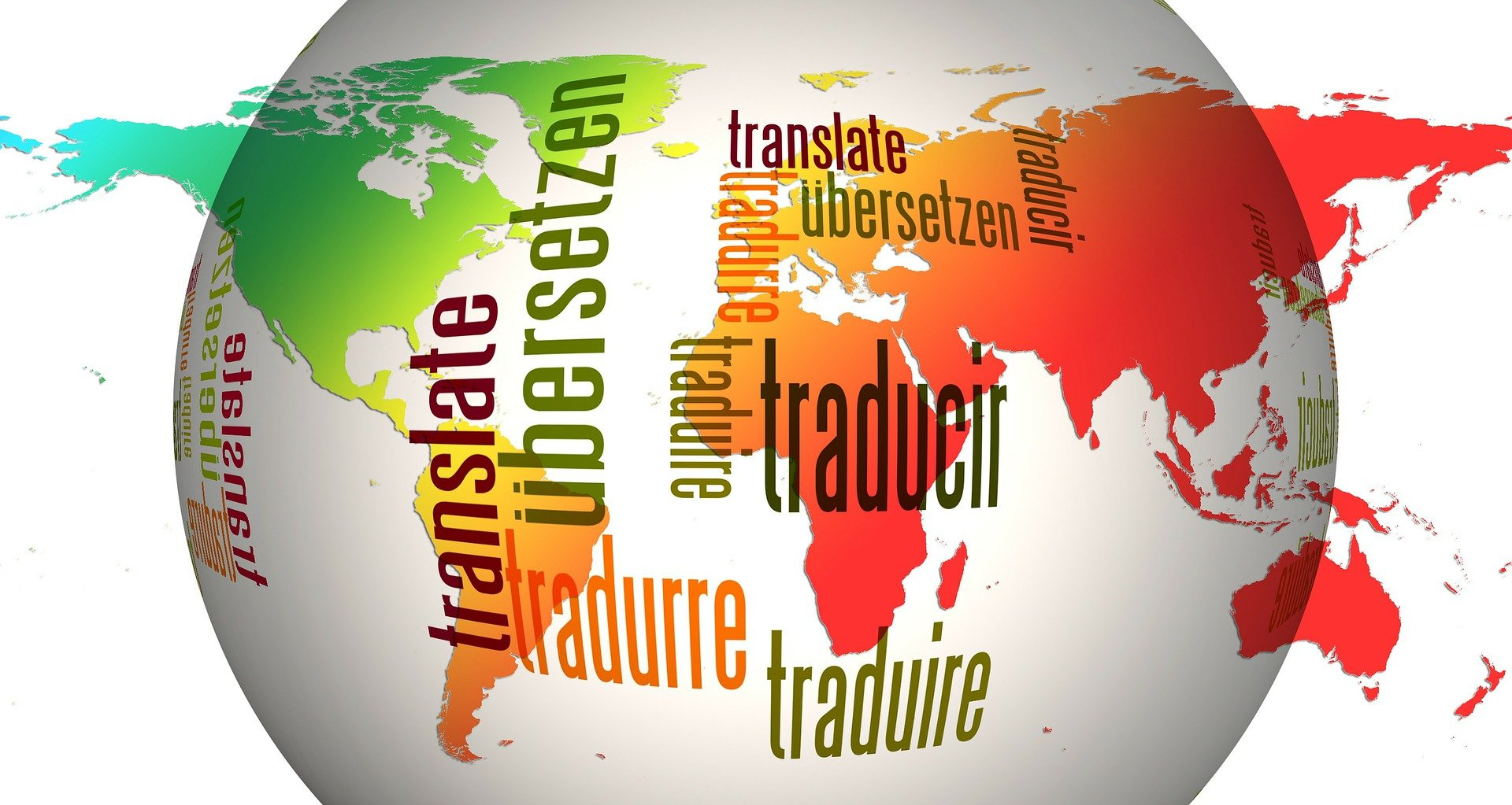 Language Links Globe image