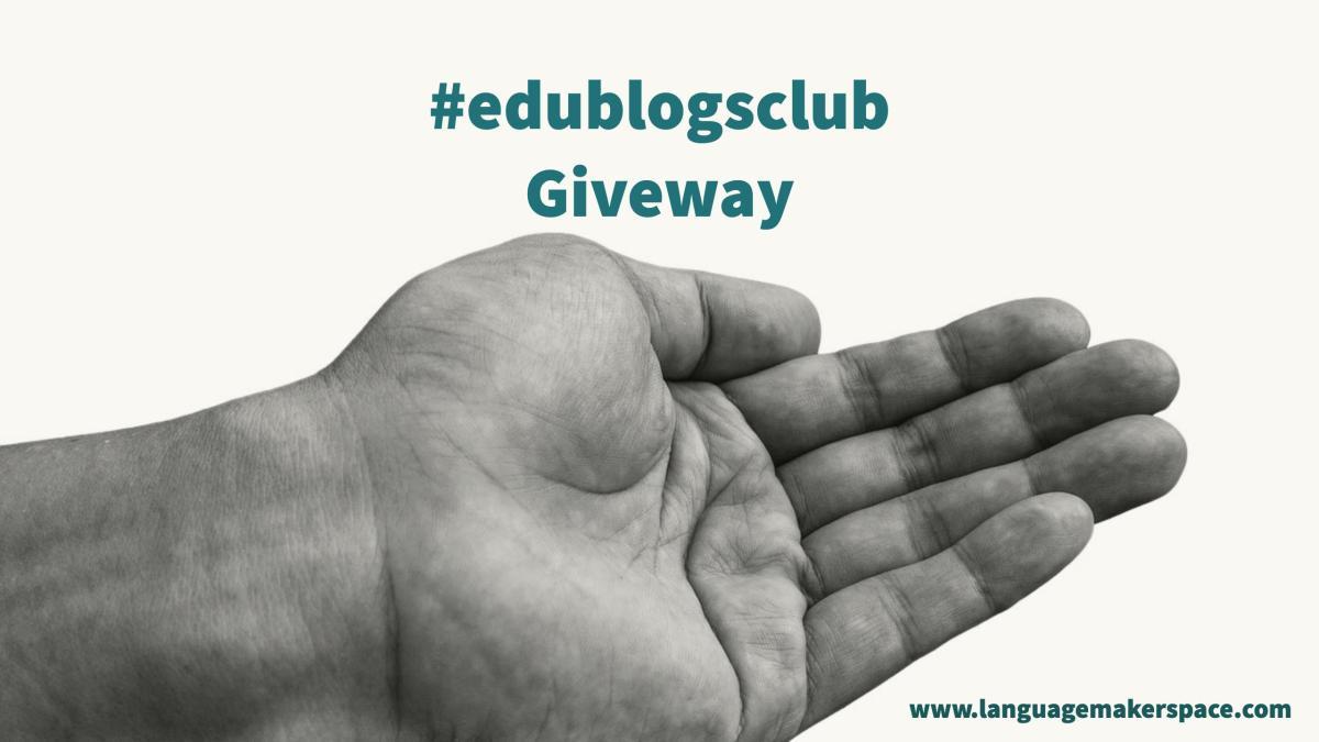 #edublogsclub – Giveaway