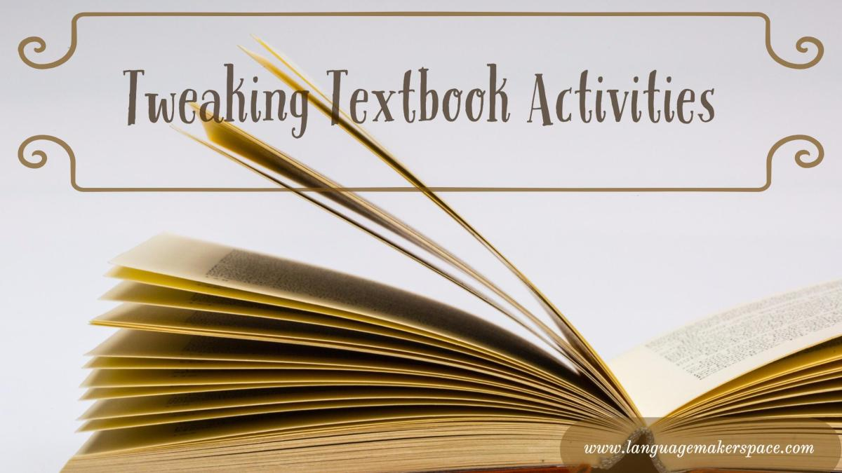 Giving Textbook Activities a Purpose