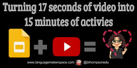 Turning 17 seconds into 15 minutes