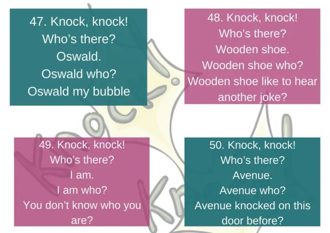knock knock humor