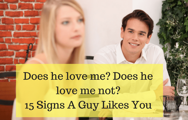 Is he falling for me signs