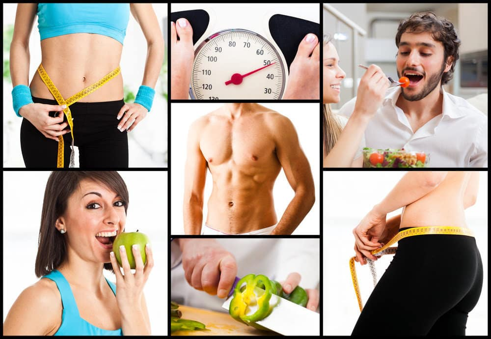 Healthy nutrition and weight loss