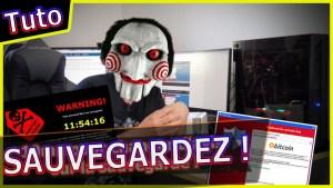 10mn pour changer d'avis sur la sauvegarde ! virus #wanacry #ransomware
