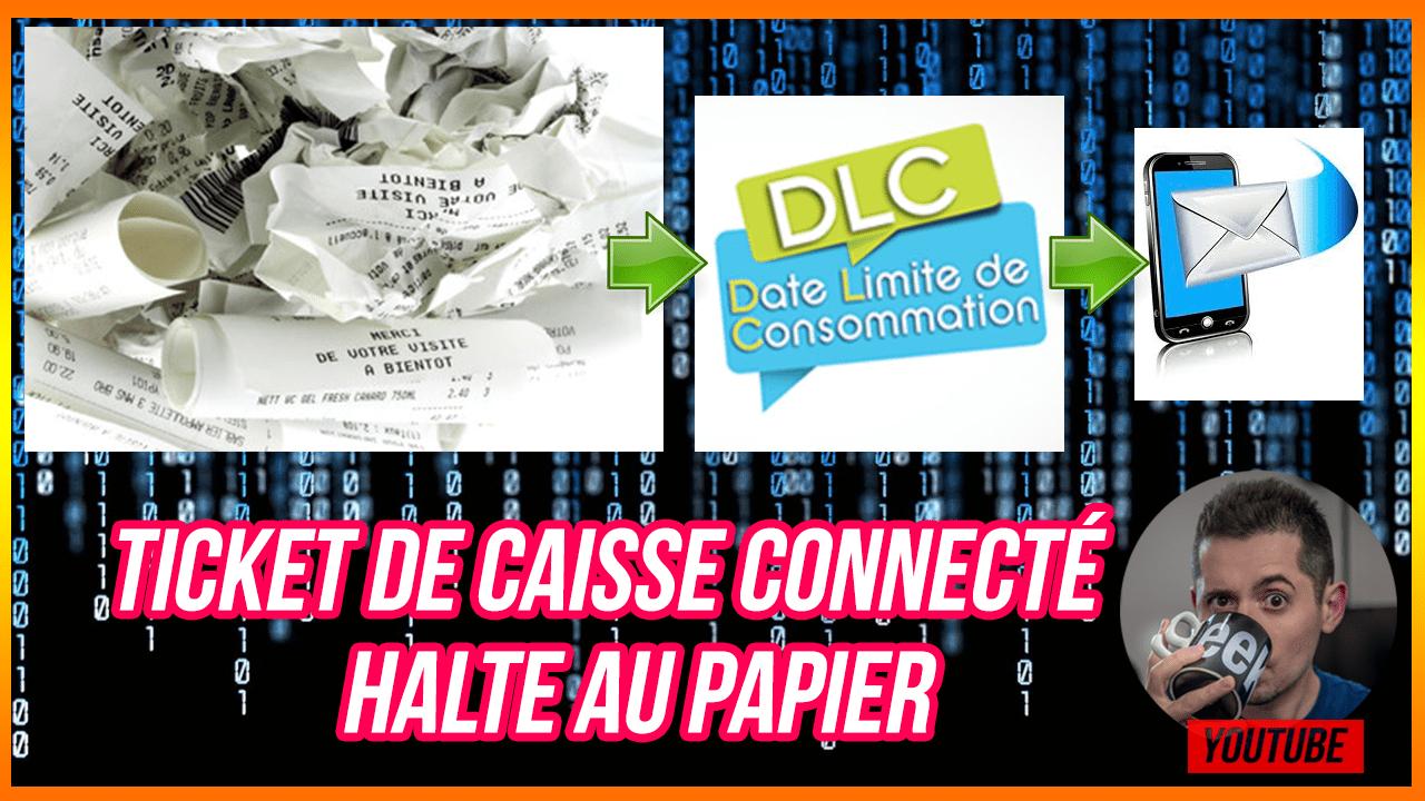 Ticket de caisse du futur , halte au papier, bonjour les DLC ! #Antigaspi