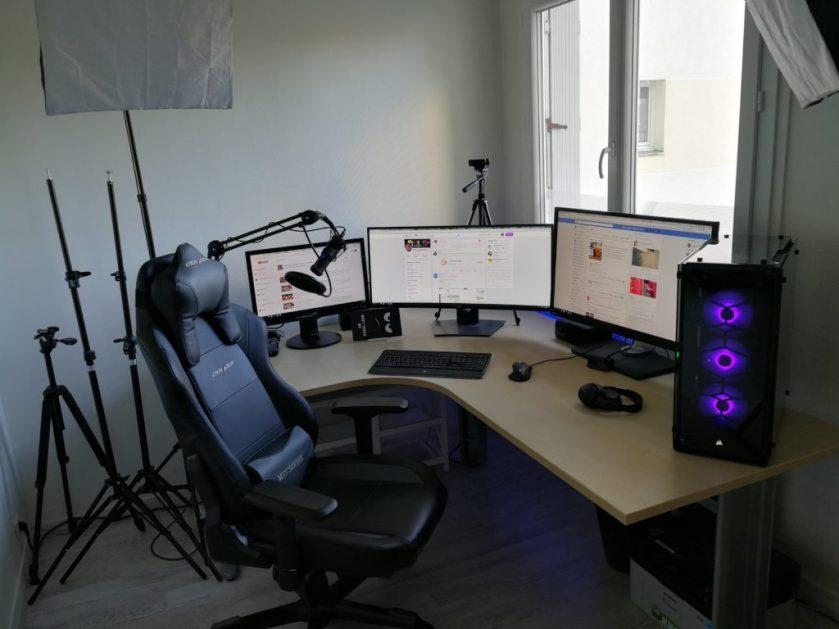 Setup languedegeek gamer