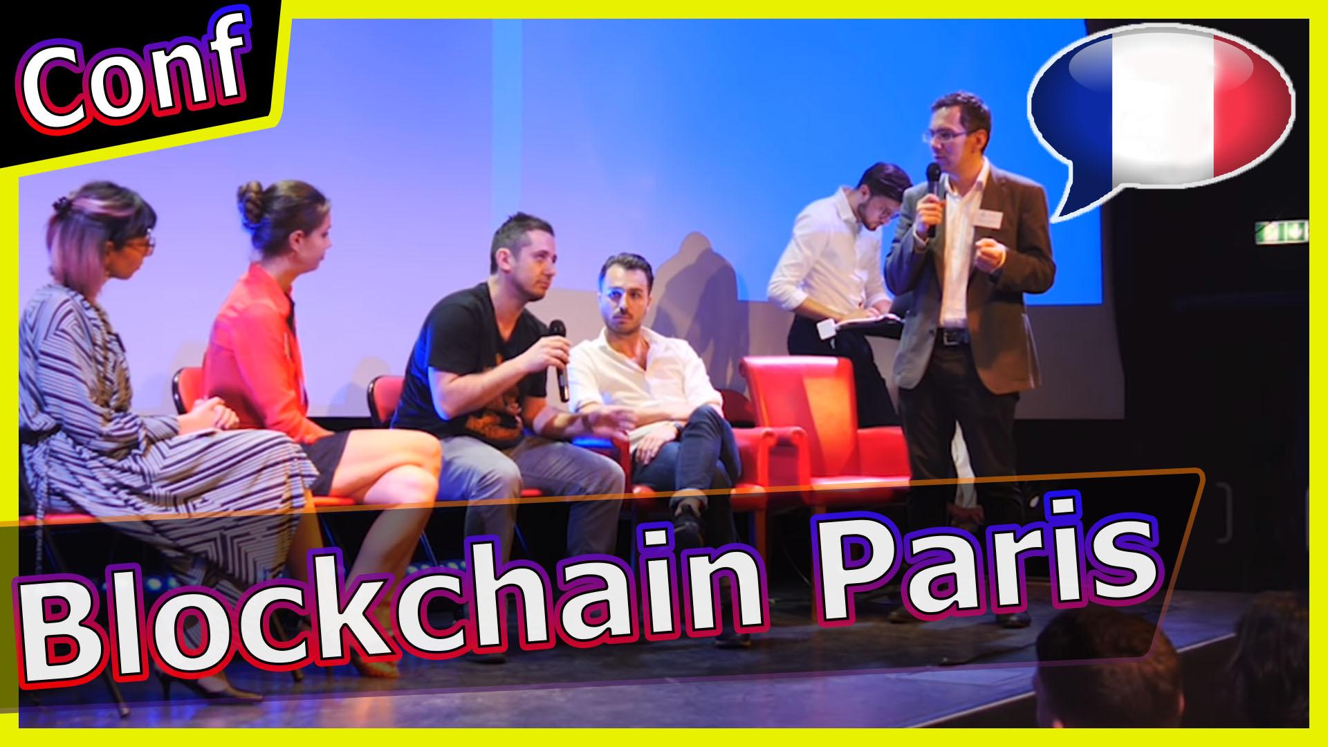 Conférence internationale Crypto Blockchain à Paris 5 juillet 2018 [Français]