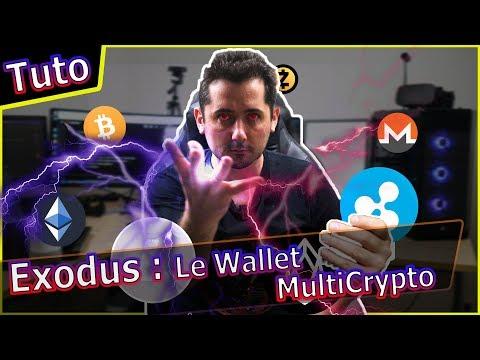[Tuto] Exodus Wallet Bitcoin Multi Crypto simple et beau !