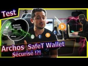 [Test] Archos SafeT : 49€ pour défier Ledger NanoS sur les wallets #bitcoin ?
