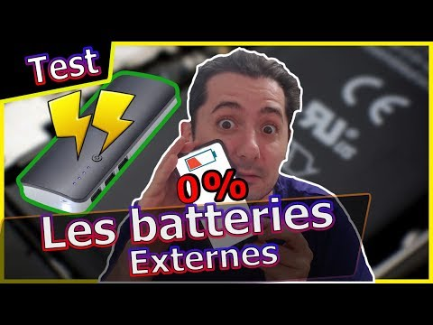 Batteries Externes Smartphones : Comment les choisir ?