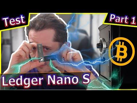 Ledger NanoS : Interface Live et initialisation