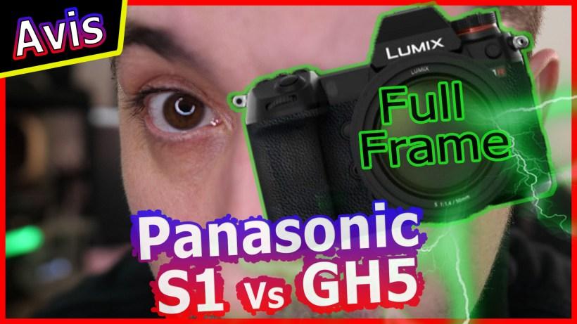 panasonic sr1 Vlog et Full frame chez gh5 sr sr1 lut colorimetrie grain nowtech mon petit reflex olivier schmitt hardisk