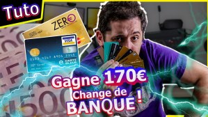 Boursorama ou Fortuneo : Gagne 200€ en changeant de Banque facilement !