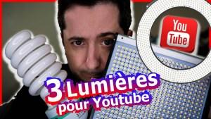 lumiere devenir youtuber eclairage softbox ringlight filmer camera