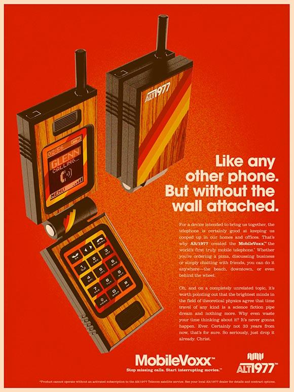 70er Jahre Werbung fr moderne Technik