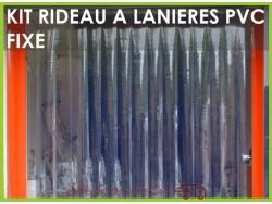 kit rideau a lanieres pvc souples