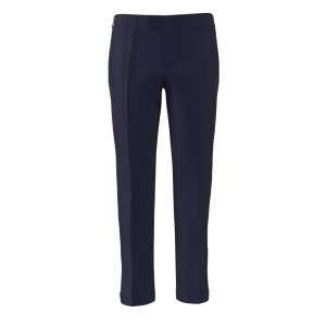 Cobalt Blue Trousers by Lanificio Ermenegildo Zegna