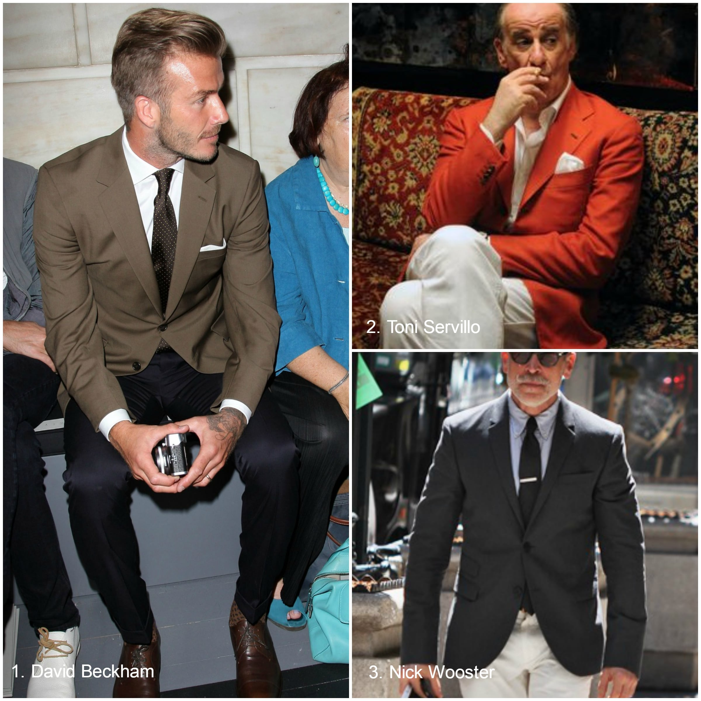 Combinations jacket trouser Articles of