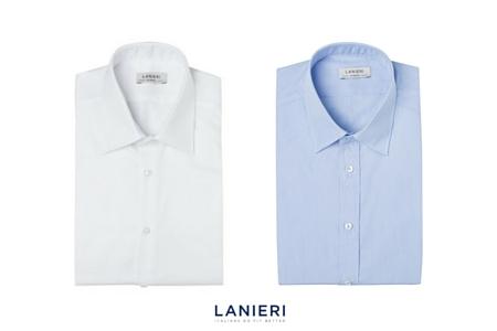 camicia bianca e camicia azzurra