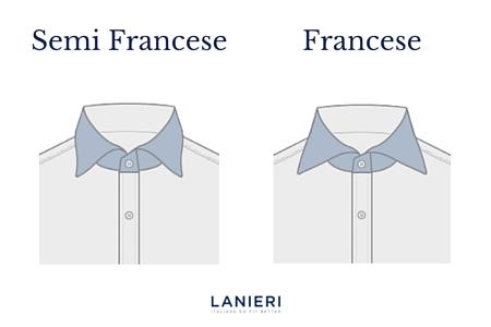 Colletto francese e semi francese a confronto