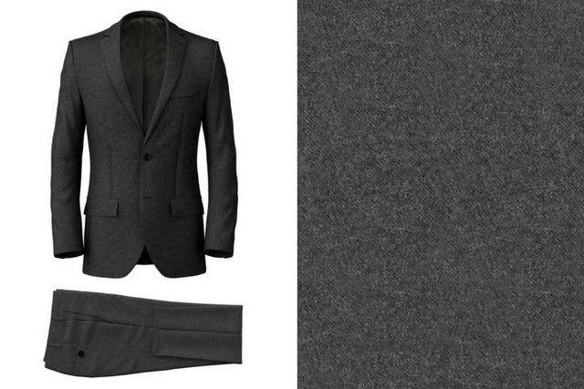Icon Grey Flannel Suit