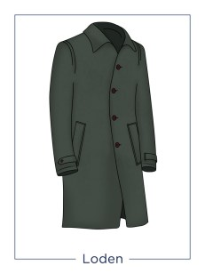 men's coat Loden