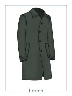 Cappotto da uomo modello Loden