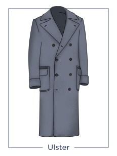 men's coat Ulster