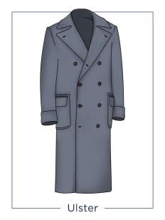 Cappotto uomo modello Ulster