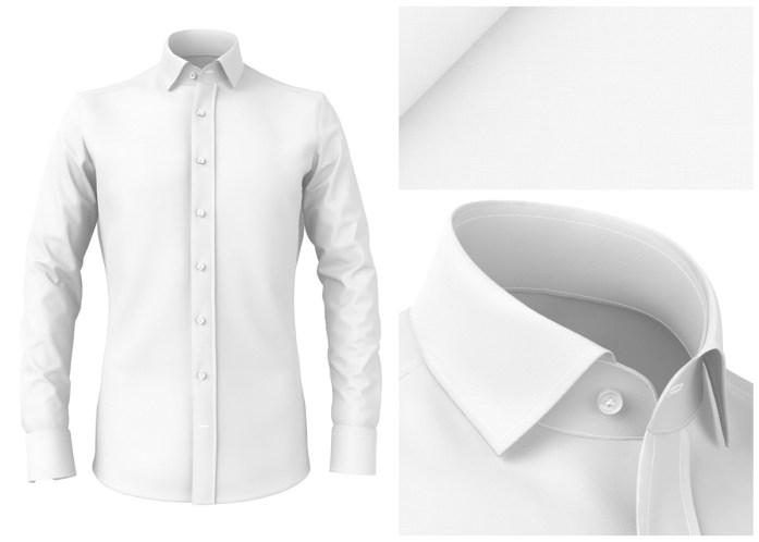 Camicia bianca da ufficio