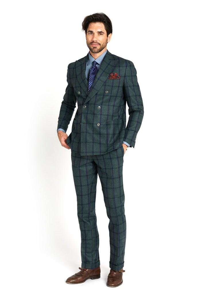 Overcheck suit