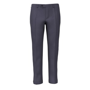 Pantalone Puro Lino Azzurro Tessuti di Sondrio