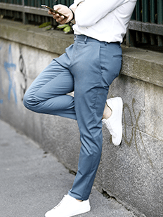brand new factory authentic outlet online Summer trousers: men's made-to-measure chinos are online