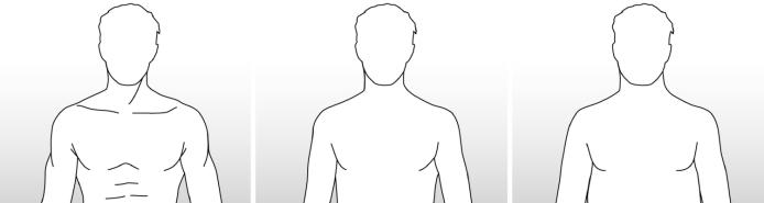 scelta profilo busto