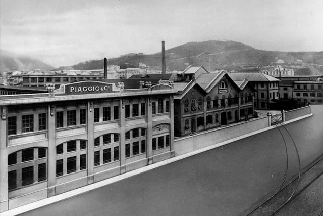 Siège de l'usine Piaggio à Finale Ligure