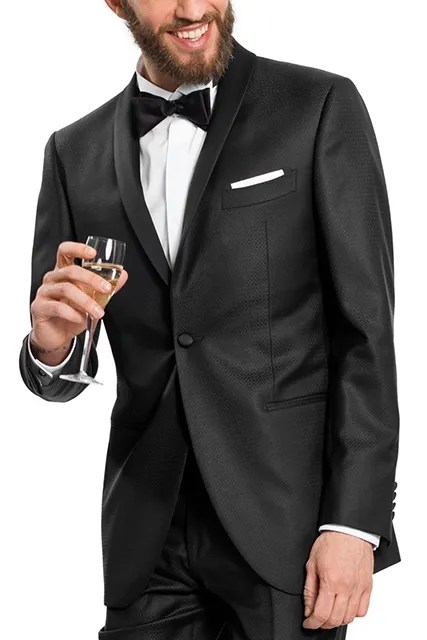 Made-to-measure dinner suit tailored by Lanieri